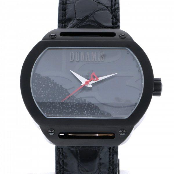 【全品 ポイント10倍 4/9~4/16】デュナミス DUNAMIS スパルタン SP-B15 ブラック文字盤 メンズ 腕時計 【中古】