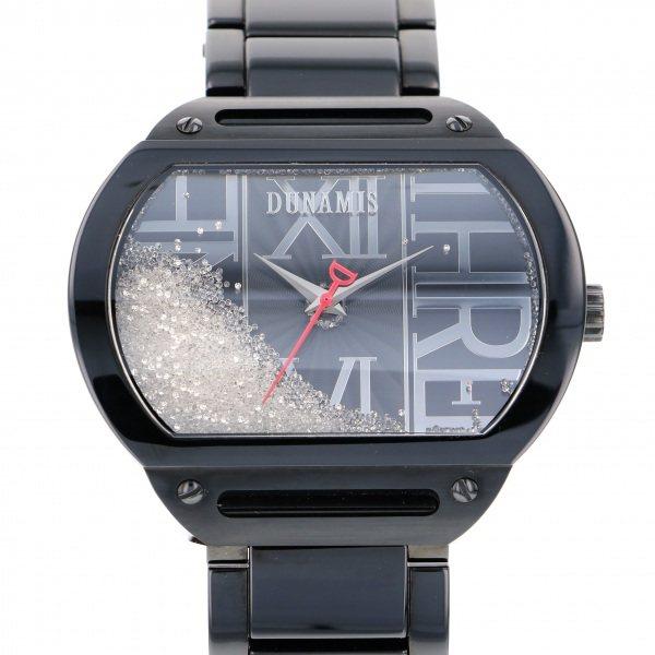 【全品 ポイント10倍 4/9~4/16】デュナミス DUNAMIS ヘラクレス HE-B12 ブラック文字盤 メンズ 腕時計 【中古】