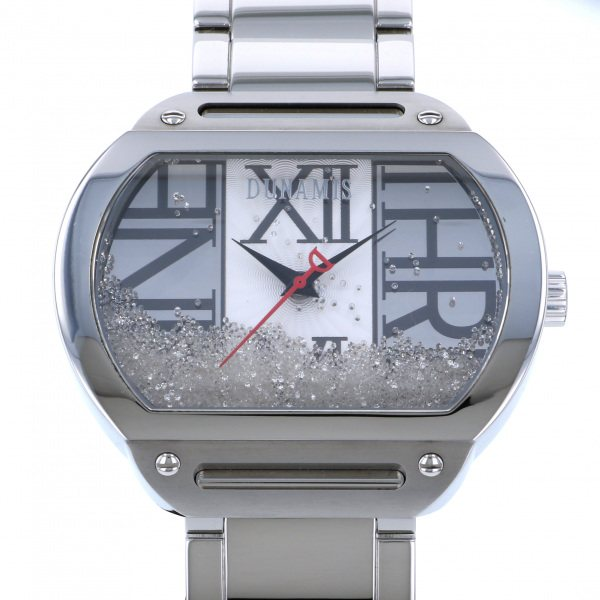 デュナミス DUNAMIS ヘラクレス HE-S13 シルバー文字盤 メンズ 腕時計 【中古】