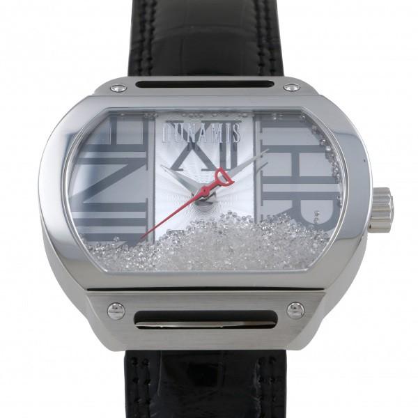 人気デザイナー デュナミス DUNAMIS デュナミス スパルタン SP-S35 シルバー文字盤 新品 新品 DUNAMIS 腕時計 メンズ, 平田町:c4235702 --- online-cv.site