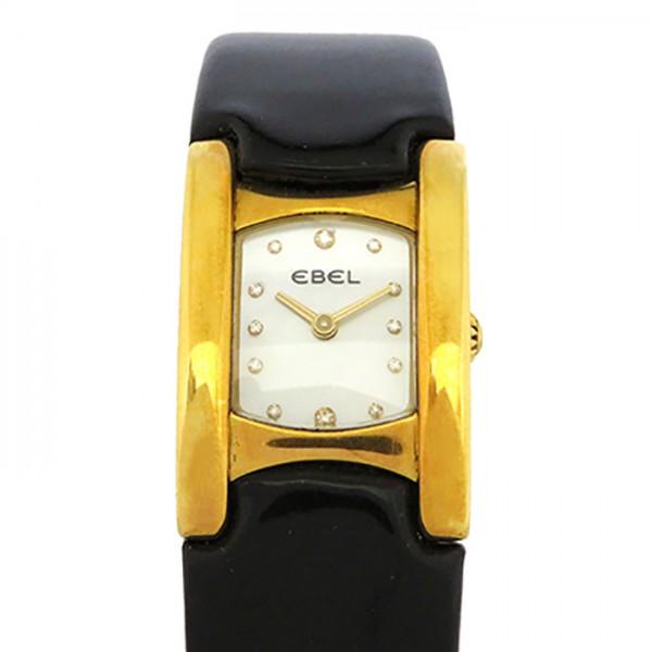 【期間限定ポイント5倍 5/5~5/31】 エベル EBEL その他 ベルーガ 8057A21 ホワイト文字盤 レディース 腕時計 【中古】