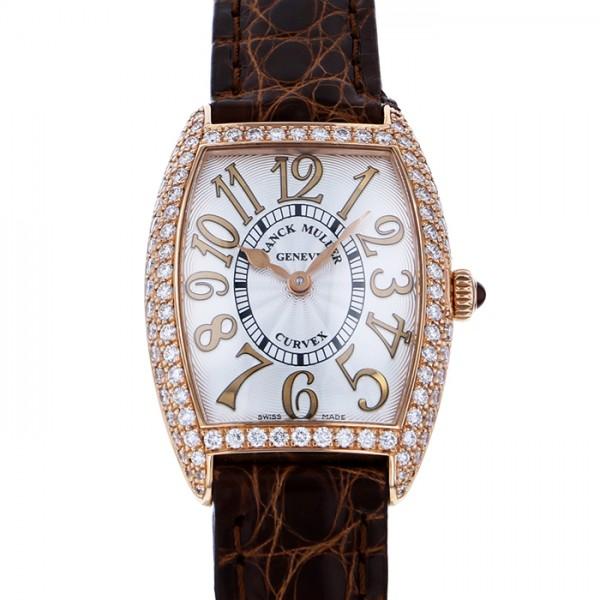 フランク・ミュラー FRANCK MULLER トノウカーベックス レリーフ 1752QZ REL D シルバー文字盤 レディース 腕時計 【新品】
