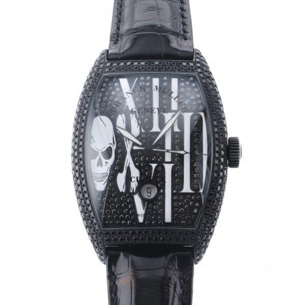 フランク・ミュラー FRANCK MULLER トノウカーベックス ゴシック アロンジェ ノアール 8880SC DT GOTH NR D CD 全面ブラックダイヤ文字盤 メンズ 腕時計 【未使用】