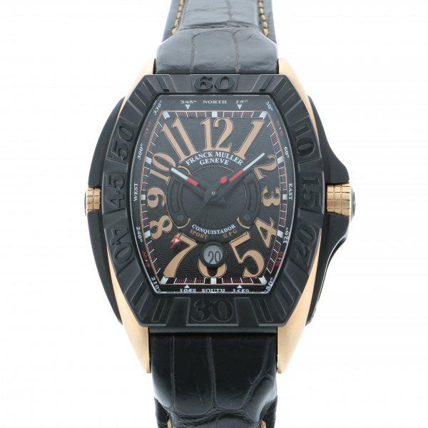 <title>フランク 送料無料(一部地域を除く) ミュラー FRANCK MULLER コンキスタドール グランプリ 8900SC DT GPG TT NR 5N ブラック文字盤 新品 腕時計 メンズ</title>