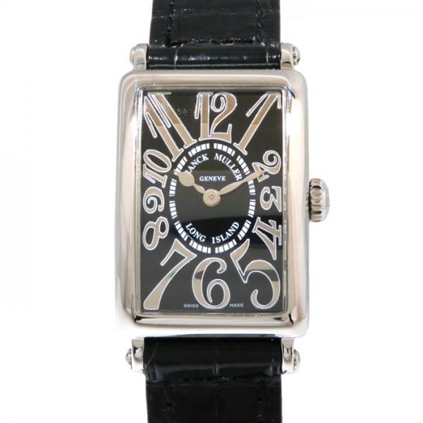 フランク・ミュラー FRANCK MULLER ロングアイランド レリーフ 902QZ ブラック文字盤 レディース 腕時計 【新品】