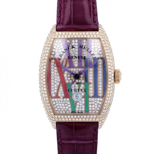 フランク・ミュラー FRANCK MULLER トノウカーベックス カラードリーム ゴシック 8880BSCDTCOLDRMRALDC シャンパン文字盤 メンズ 腕時計 【中古】