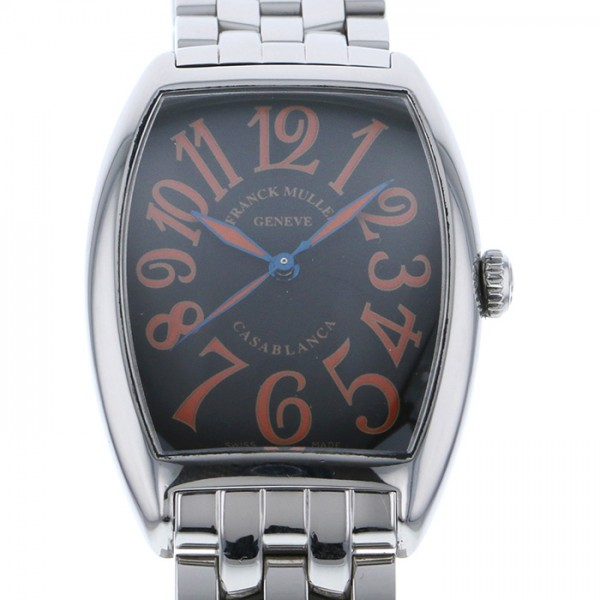 フランク・ミュラー FRANCK MULLER カサブランカ サハラ 2852CASA SAHARA ブラック文字盤 メンズ 腕時計 【中古】