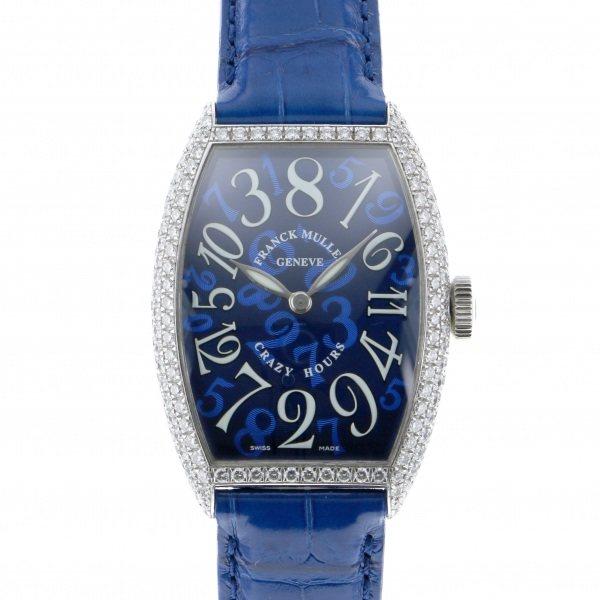 ふるさと納税 フランク・ミュラー FRANCK MULLER 5850CH トノウカーベックス クレイジーアワーズ ダイヤモンド D 5850CH FRANCK D ブルー文字盤 腕時計 メンズ, 繁盛工房:6364e1b3 --- easassoinfo.bsagroup.fr