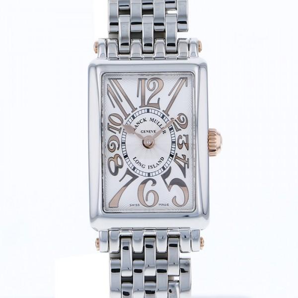 sale retailer e38e5 8398f フランク・ミュラー FRANCK MULLER ロングアイランド プティ レリーフ 802QZ REL STG シルバー文字盤 レディース 腕時計  【新品】|株式会社ジェムキャッスルゆきざき