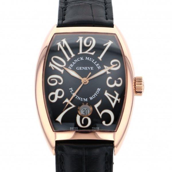 フランク・ミュラー FRANCK MULLER トノウカーベックス 7851SC DT 5N ブラック文字盤 メンズ 腕時計 【中古】