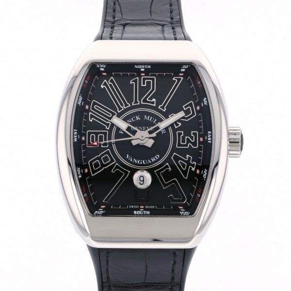 フランク・ミュラー FRANCK MULLER ヴァンガード V45SC DT AC NR ブラック文字盤 メンズ 腕時計 【中古】