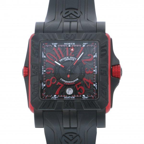 フランク・ミュラー FRANCK MULLER コンキスタドール グランプリ コルテス 10800SC DT GPG TT NR ERG ブラック文字盤 メンズ 腕時計 【新品】
