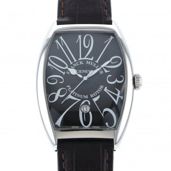 フランク・ミュラー FRANCK MULLER トノウカーベックス 6850B SC DT VA ブラック文字盤 メンズ 腕時計 【中古】
