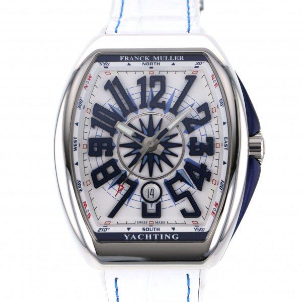 フランク・ミュラー FRANCK MULLER ヴァンガード ヨッティング V45SC DT YACHTING AC BL ホワイト文字盤 メンズ 腕時計 【新品】