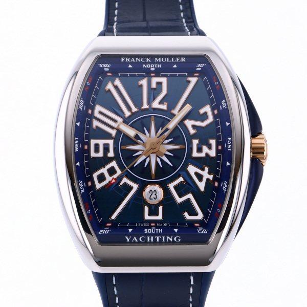 フランク・ミュラー FRANCK MULLER ヴァンガード ヨッティング V45SC DT YACHTING STG ブルー文字盤 メンズ 腕時計 【新品】