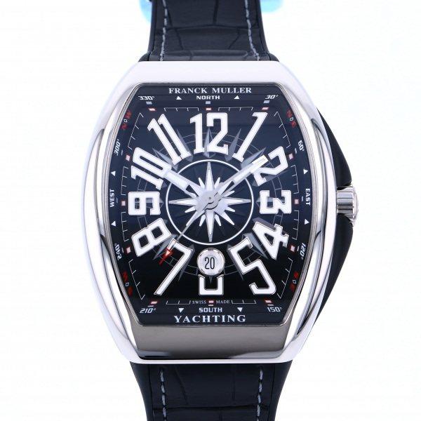 フランク・ミュラー FRANCK MULLER ヴァンガード ヨッティング V45SC DT YACHTING AC NR ブラック文字盤 メンズ 腕時計 【新品】