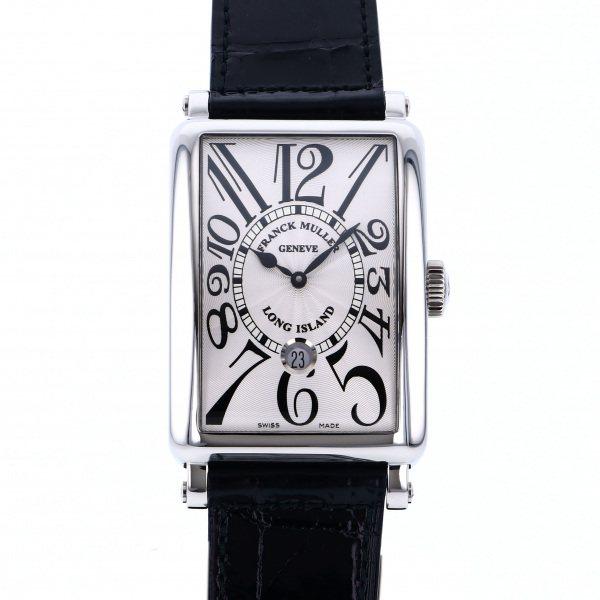 フランク・ミュラー FRANCK MULLER ロングアイランド デイト 1300SC DT シルバー文字盤 メンズ 腕時計 【新品】