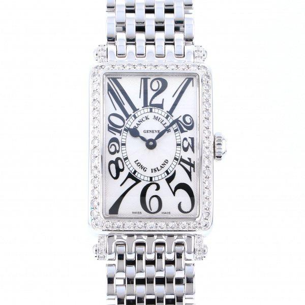 フランク・ミュラー FRANCK MULLER ロングアイランド 902QZ D 1R シルバー文字盤 レディース 腕時計 【新品】