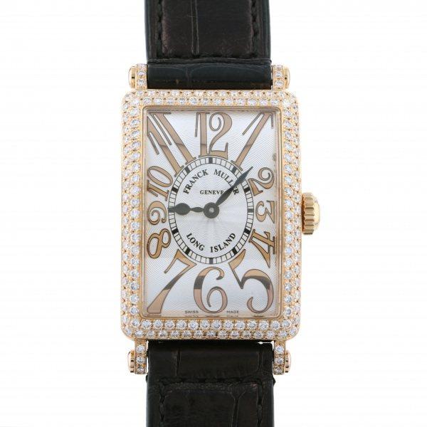 フランク・ミュラー FRANCK MULLER ロングアイランド 902QZ D シルバー文字盤 レディース 腕時計 【中古】