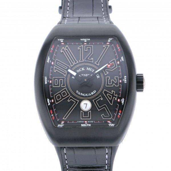 フランク・ミュラー FRANCK MULLER ヴァンガード V45SC DT TT NR BR TT ブラック文字盤 メンズ 腕時計 【新品】