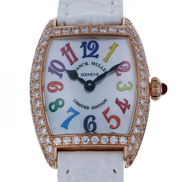 フランク・ミュラー FRANCK MULLER トノウカーベックス プティ 2252QZ COLDRM MOPD ホワイト文字盤 レディース 腕時計 【新品】