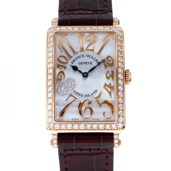フランク・ミュラー FRANCK MULLER ロングアイランド レリーフ 952QZ REL MOP D 1R CD8 NI ホワイト文字盤 レディース 腕時計 【新品】