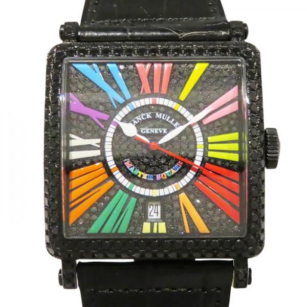 フランク・ミュラー FRANCK MULLER マスタースクエア カラードリームス 6000HSC DT NR D CD ブラック文字盤 メンズ 腕時計 【新古品】