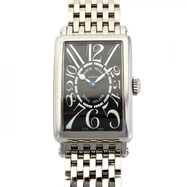 フランク・ミュラー FRANCK MULLER ロングアイランド 902QZ ブラック文字盤 レディース 腕時計 【新古品】