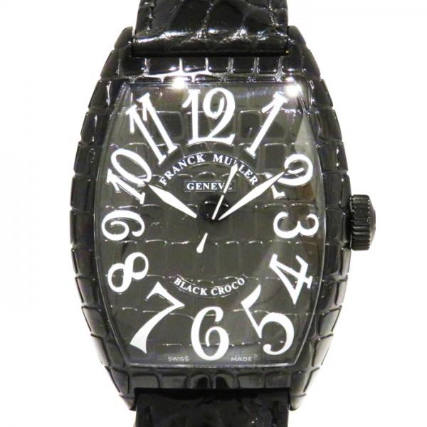 フランク・ミュラー FRANCK MULLER トノウカーベックス ブラッククロコ 8880SC BLK CRO ブラック文字盤 メンズ 腕時計 【新品】