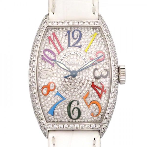 フランク・ミュラー FRANCK MULLER トノウカーベックス カラードリーム 5850SC 全面ダイヤ文字盤 メンズ 腕時計 【新品】