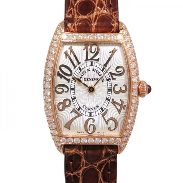 フランク・ミュラー FRANCK MULLER トノウカーベックス 1752QZ REL D シルバー文字盤 レディース 腕時計 【新品】