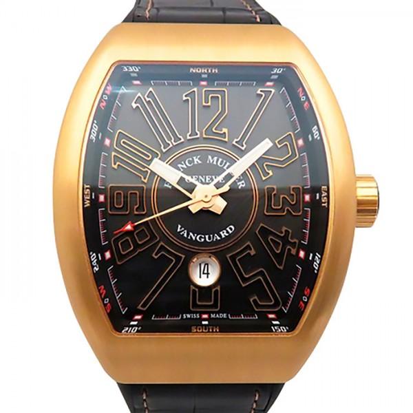フランク・ミュラー FRANCK MULLER ヴァンガード V45SC DT 5N NR ブラック文字盤 メンズ 腕時計 【新品】