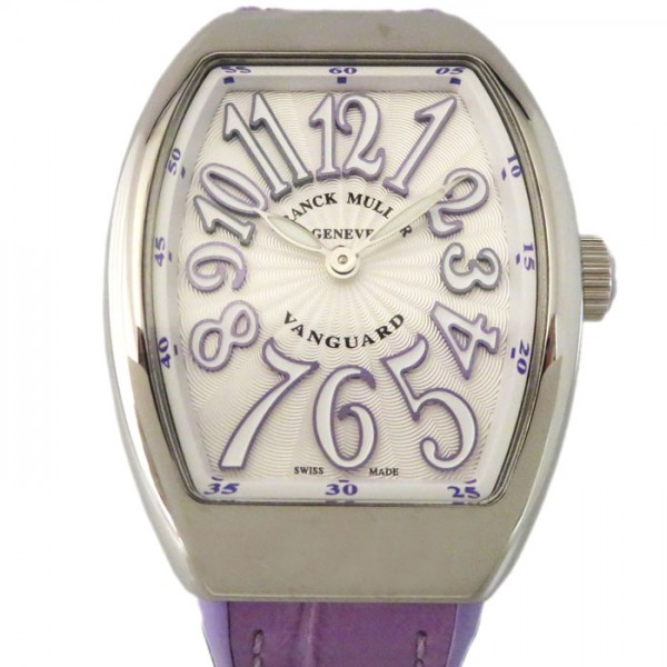フランク・ミュラー FRANCK MULLER ヴァンガード V32QZ AC VL シルバー文字盤 レディース 腕時計 【新品】