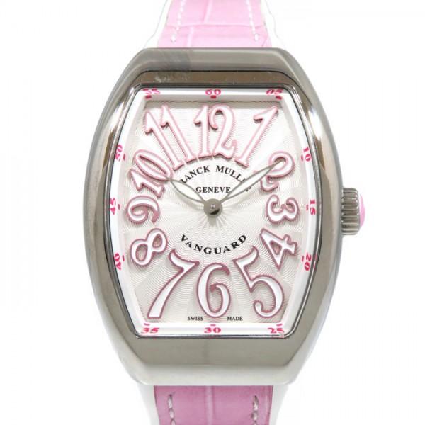 フランク・ミュラー FRANCK MULLER ヴァンガード V32QZACRS シルバー文字盤 レディース 腕時計 【新品】