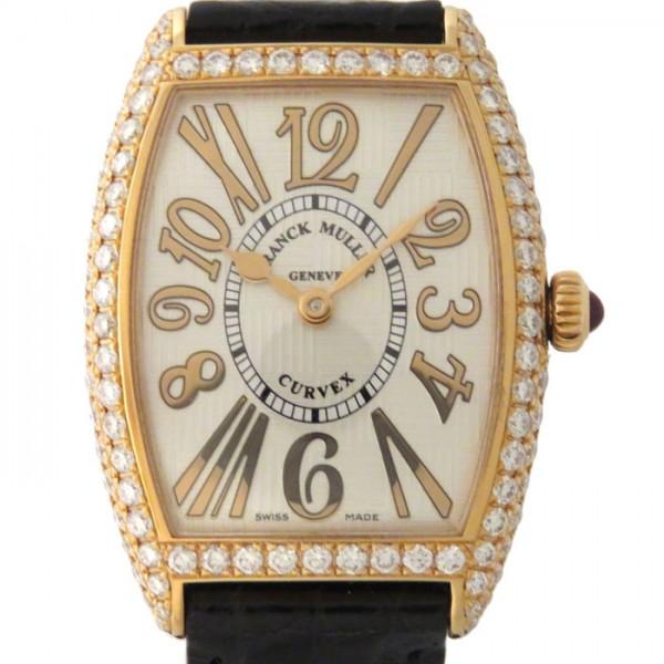 フランク・ミュラー FRANCK MULLER トノウカーベックス 1752QZ ホワイト文字盤 レディース 腕時計 【新品】