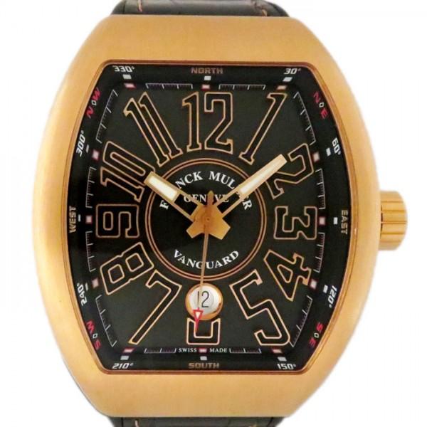 フランク・ミュラー FRANCK MULLER ヴァンガード V45SCDT ブラック文字盤 メンズ 腕時計 【新品】