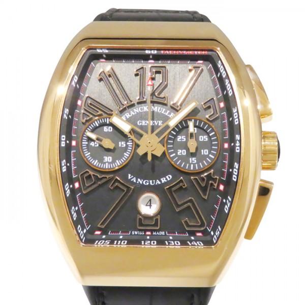 フランク・ミュラー FRANCK MULLER ヴァンガード V45CCDT ブラック文字盤 メンズ 腕時計 【新品】