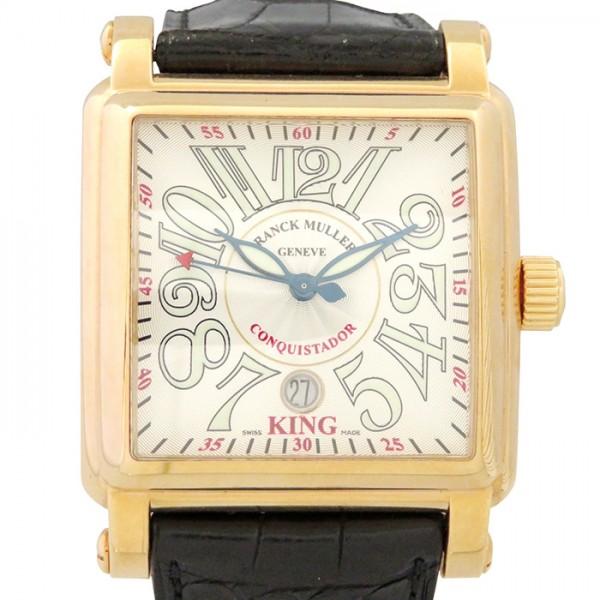 【予約販売】本 フランク メンズ・ミュラー FRANCK MULLER SC コンキスタドール コルテス キング 10000K MULLER SC シルバー文字盤 腕時計 メンズ, ナカマチ:0e4870f0 --- easassoinfo.bsagroup.fr