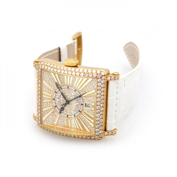 フランク・ミュラー FRANCK MULLER マスタースクエア 6000HSC DT R D CD 全面ダイヤ文字盤 メンズ 腕時計 【新品】