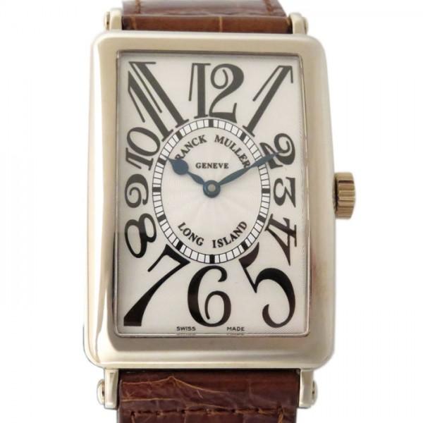 【期間限定ポイント5倍 5/5~5/31】 フランク・ミュラー FRANCK MULLER ロングアイランド 1000SC シルバー文字盤 メンズ 腕時計 【新品】
