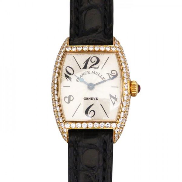 【期間限定ポイント5倍 5/5~5/31】 フランク・ミュラー FRANCK MULLER その他 トノウインターミディエ ベゼルダイヤ 2250MC D シルバー文字盤 レディース 腕時計 【中古】
