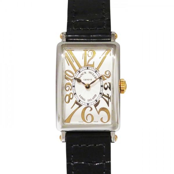 フランク・ミュラー FRANCK MULLER ロングアイランド レリーフ 902QZ REL シルバー文字盤 レディース 腕時計 【新品】