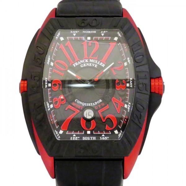 【期間限定ポイント5倍 5/5~5/31】 フランク・ミュラー FRANCK MULLER コンキスタドール グランプリ 9900SC DT GPG TT NR ERG ブラック文字盤 メンズ 腕時計 【新品】