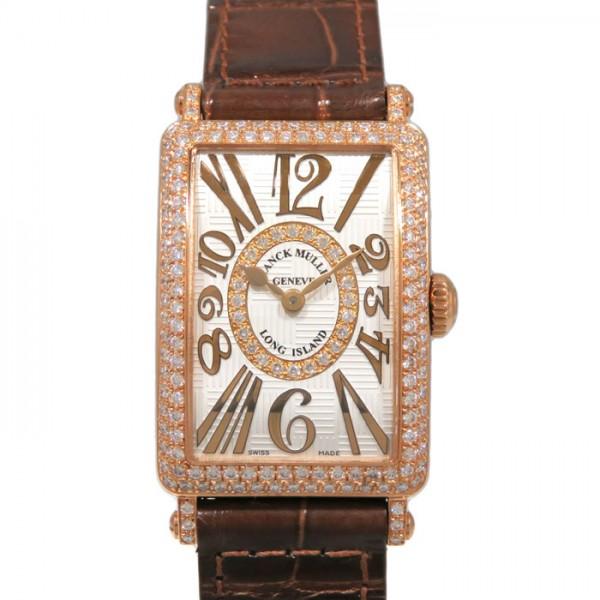 フランク・ミュラー FRANCK MULLER ロングアイランド アンサンブル 902QZ REL V-R D CD 1R シルバー文字盤 レディース 腕時計 【新品】