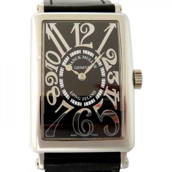 フランク・ミュラー FRANCK MULLER ロングアイランド レリーフ 1000SC REL ブラック文字盤 メンズ 腕時計 【新品】