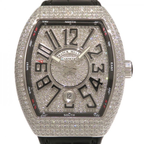 フランク・ミュラー FRANCK MULLER ヴァンガード V41SC DT CD AC NR 全面ダイヤ文字盤 メンズ 腕時計 【新品】
