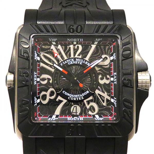 フランク・ミュラー FRANCK MULLER コンキスタドール コルテス グランプリ 10800SC DT GPG BLK ブラック文字盤 メンズ 腕時計 【新品】