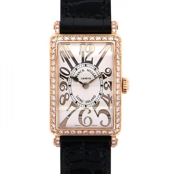 フランク・ミュラー FRANCK MULLER ロングアイランド レリーフ 902QZ REL D 1R シルバー文字盤 レディース 腕時計 【新品】