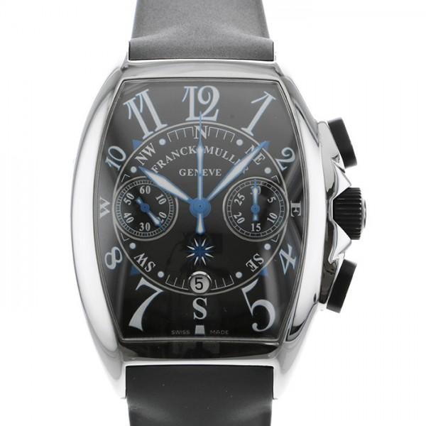 【期間限定ポイント5倍 5/5~5/31】 フランク・ミュラー FRANCK MULLER トノウカーベックス マリナー 8080CC AT ブラック文字盤 メンズ 腕時計 【中古】