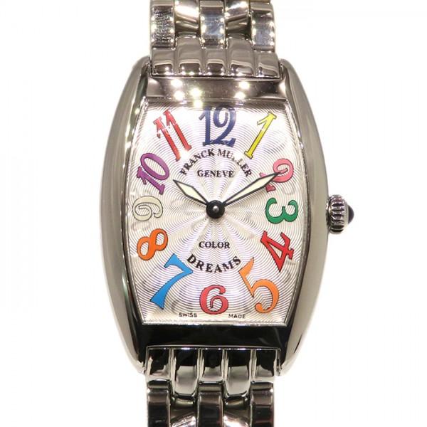 フランク・ミュラー FRANCK MULLER トノウカーベックス カラードリーム 1752QZ CD OAC マルチカラー文字盤 レディース 腕時計 【新品】